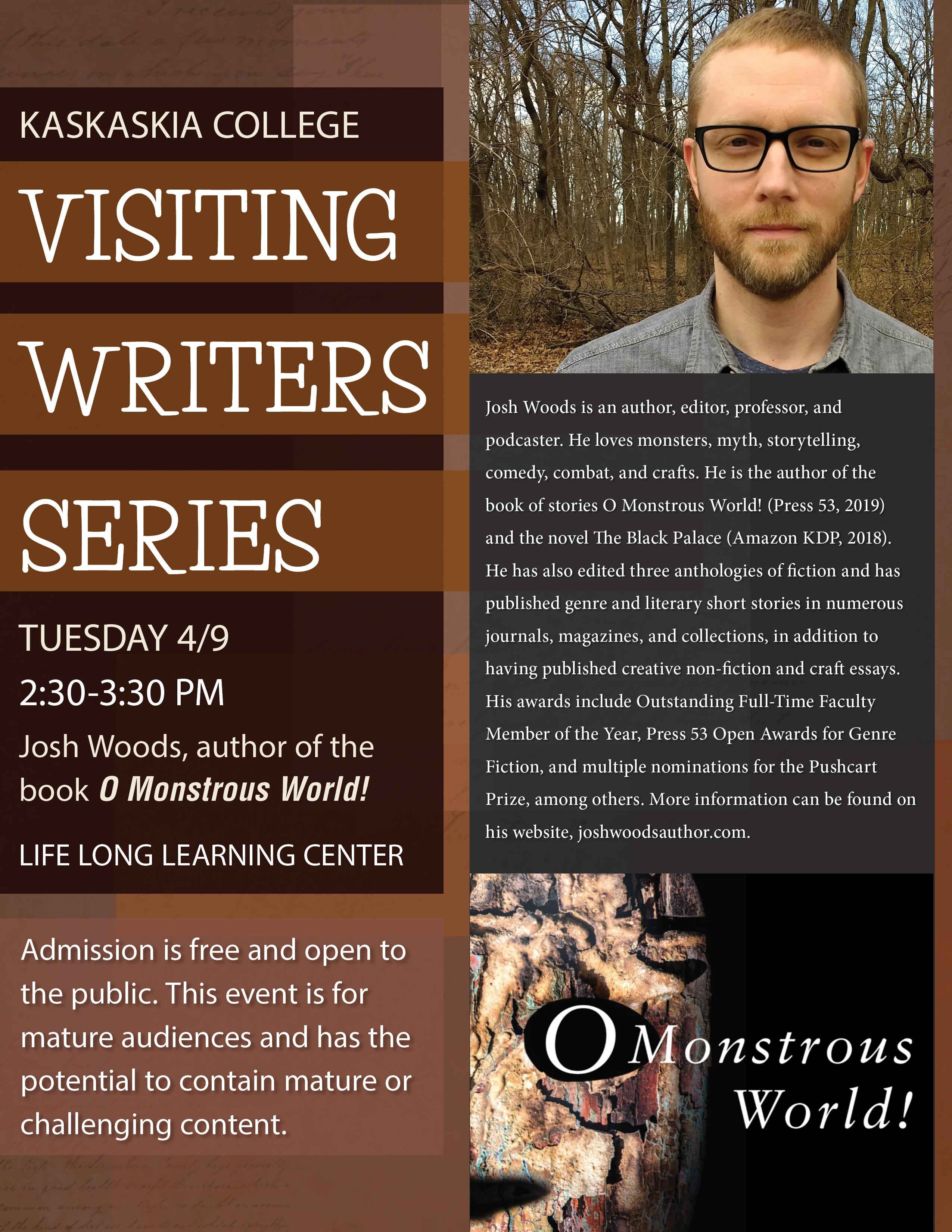 Visiting writers series JOSH WOODS